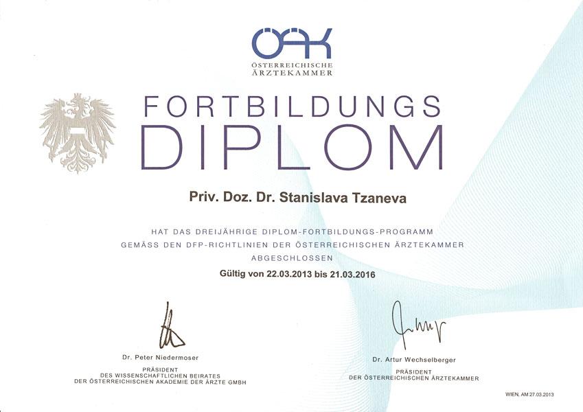 ÖÄK Fortbildungs Diplom