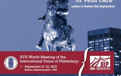 XVII Weltkongress für Venenerkrankungen Boston 8.-13. Sep 2013